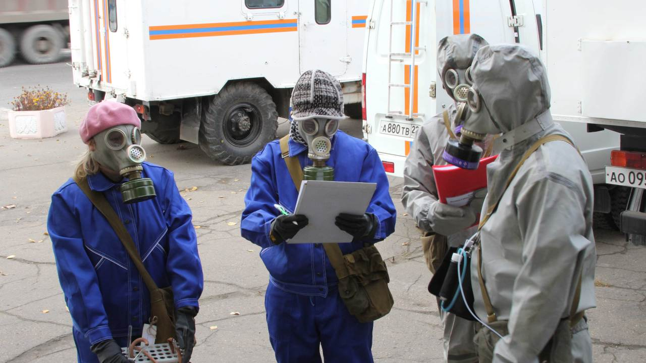 Зауралье участвует воВсероссийской тренировке погражданской обороне